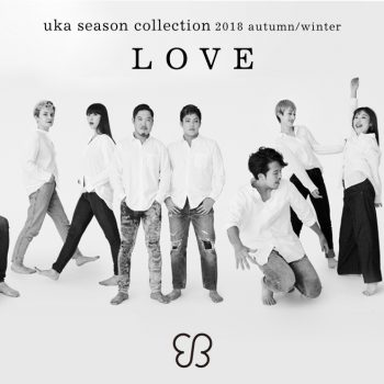 "uka season collection  2018 autumn/winter ""Love"""