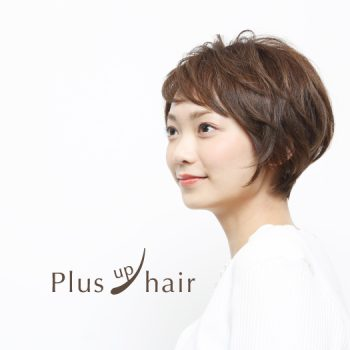 <small>〈Hair〉結着式エクステンション</small><br>Plus up hair