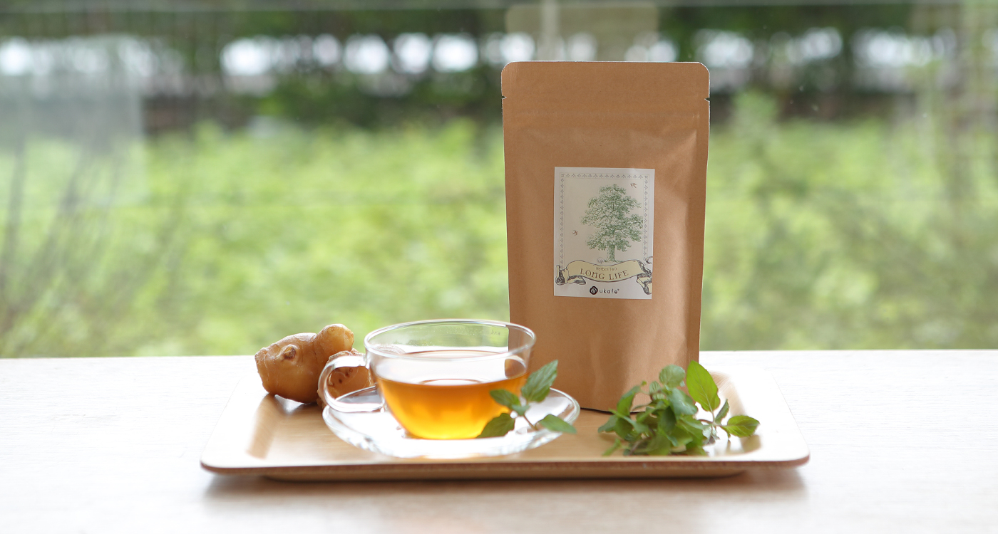 ukafe Herbal Tea LONG LIFE