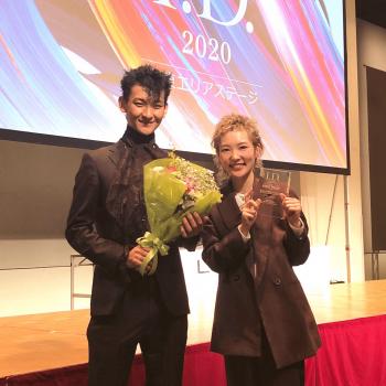 uka 恵比寿三越店所属のヘアスタイリスト川田 愛恵が、LeveL主催「I.D.」のMen's Design Award関東エリアでグランプリを獲得しました!